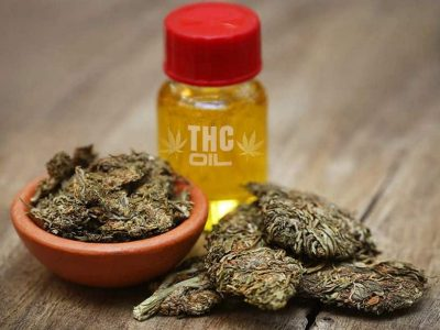 Pure THC Oil Extract