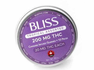 BLISS edibles 200mg THC