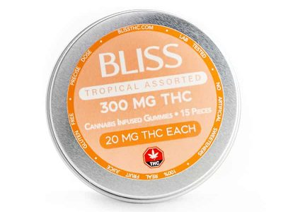 BLISS edibles 300mg THC