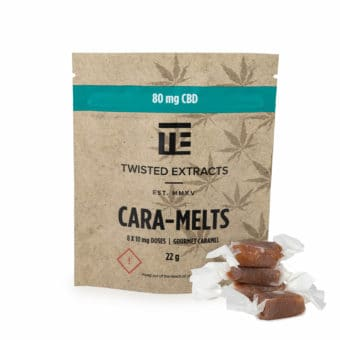 CBD CARA-MELTS – Twisted Extract