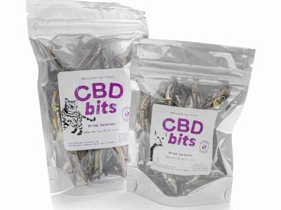 CBD Dried Sardines – CBDbits Medicated Cat Treats