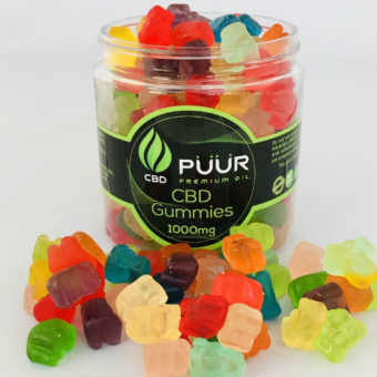 CBD Gummies Gummy Bears 1000mg