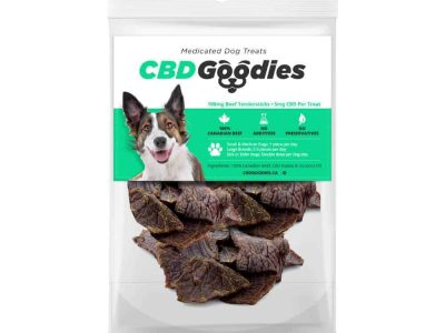 CBD Medicated Dog Treats – CBD Goodies