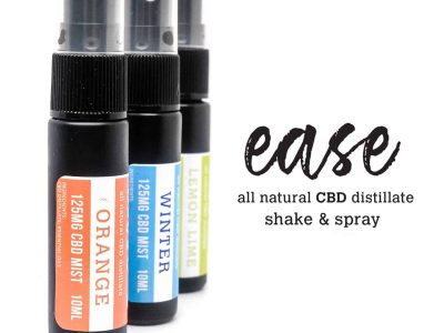 Ease – CBD Mist Spray 125mg 10ml