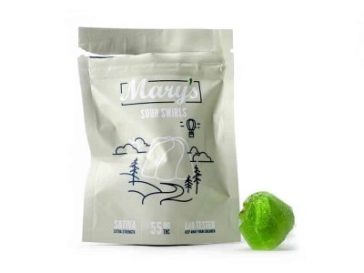 Mary's Sour Swirls Extra Strength Sativa