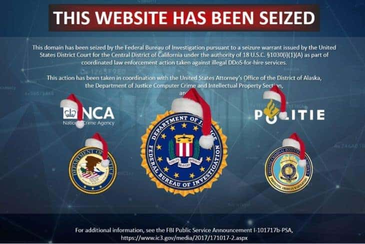 FBI kicks some of the worst 'DDoS for hire' sites off the internet    TechCrunch